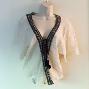 Lovestitch Top Embroidered Size Small